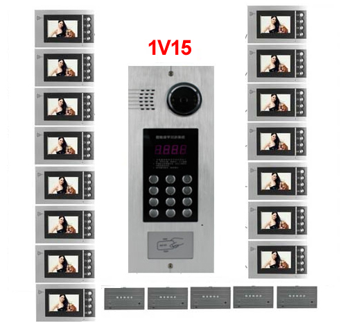Access Control Accessories Back To Search Resultssecurity & Protection Smart Xinsilu Building Home Security Video Intercom System Video Door Phone Decoder For Home Building Video Doorbell Apartments