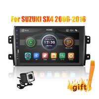 2din coche de 9 pulgadas de Radio Enlace Android con Bluetooth coche Multimedia MP5 jugador para SUZUKI SX4 2007, 2008, 2009, 2010, 2011, 2013