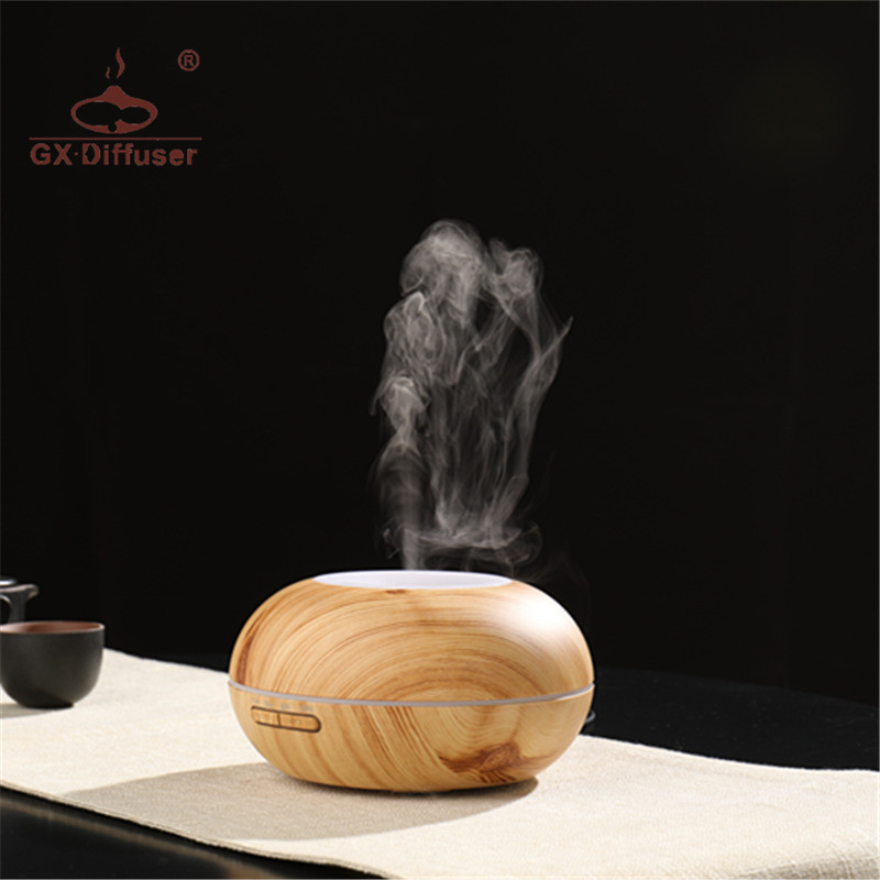 Newest 300ml GX. Diffuser 7 Colors LED Light Aromatherapy for Home Office Essential Oil Aroma Ultrasonic Air Humidifier