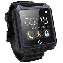 U-Uhr U Terra Outdoor Sports Wasserdichte Smartwatch 1,54 «Touchscreen Bluetooth 4,0 Kompass Schrittzähler PSG anti-verlorene Smart Uhr
