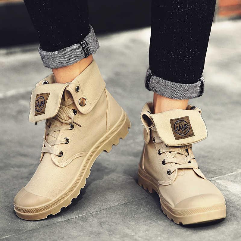PUIMENTIUA Mannen Laarzen Veiligheid Werk Laarzen Anti-smashing Veiligheidsschoenen Mannen Schoenen Mannelijke Sneakers Onverwoestbaar Schoenen Werkschoenen