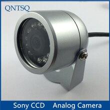 Câmera 700tvl do ccd de sony, câmera do cctv ir impermeável capa de habitação de metal da câmera (pequena). CY C1010A, com porca