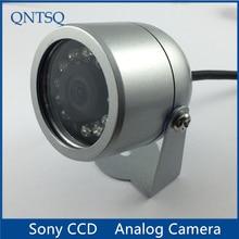 Sony CCD 700TVL Cámara, CCTV Cámara IR impermeable Metal carcasa cubierta (pequeño).CY C1010A, con tuerca