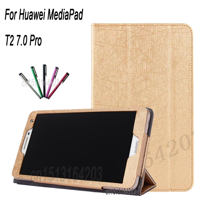For Huawei MediaPad T2 7.0 Pro Protective Case Smart cover PU Leather For HUAWEI Youth t2 7 Magnetic sleep wake up stand shell g case executive чехол для huawei mediapad t2 10 pro black