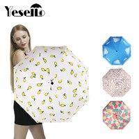 Wulekue Hand Carved Wooden Cute Animal Windproof Rain And Parasol Folding Women Umbrella
