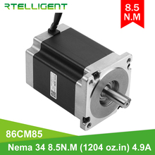 Nema 34 Stepper-Motor Cnc-Kit Mechine Rtelligent High-Torque Shaft-Diameter 8 2 for 85kgcm