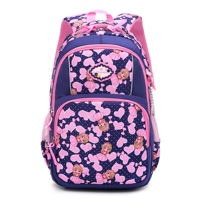 ZIRANYU Hot Sale Children Backpacks for Teenagers Girls Waterproof School Bags Child Orthopedics Schoolbags Boys Grades 1-3 School Bags