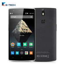 Original Oneplus One Quad Core Cell Phone 13MP 3G RAM 64G ROM Android 5.0 Mobile Phone 5.5 Inch 13MP Camera 4G LTE Smartphone