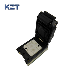 LGA60 TO DIP48 Pogo Pin Flash Programmer Adapter IC Test Socket LGA60 Burn in Socket Clamshell Structure iphone NAND programmer