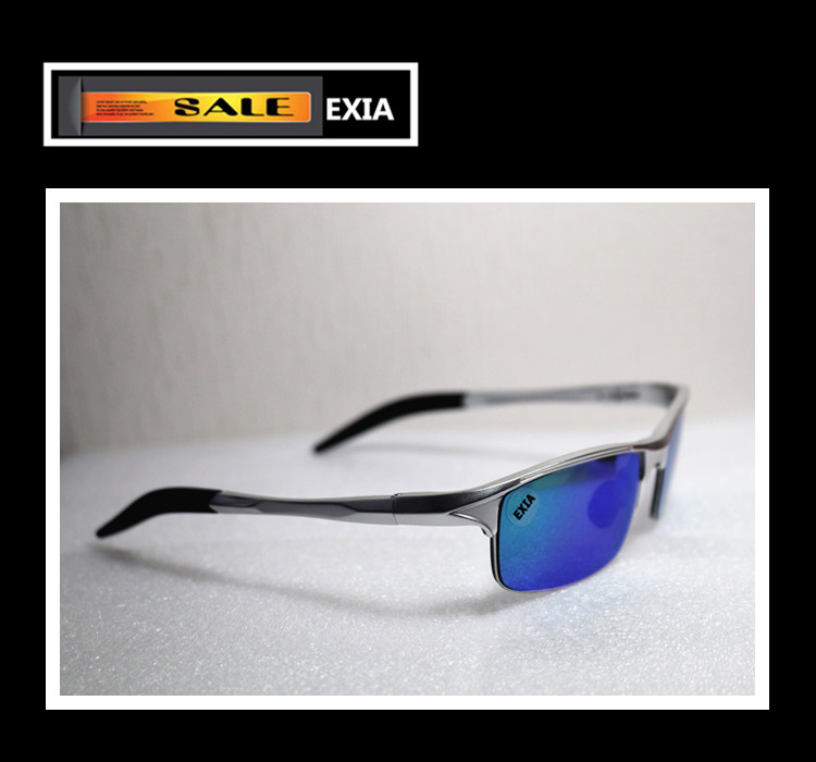 Polarized Mirror Lensses for Mens Sunglassses Anti-Ultra Violet EXIA OPTICAL KD-320 Seri ...