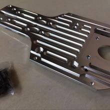 Baja CNC мощность под защитой двигателя защита шасси для hpi baja 5b части rovan km rc автомобилей