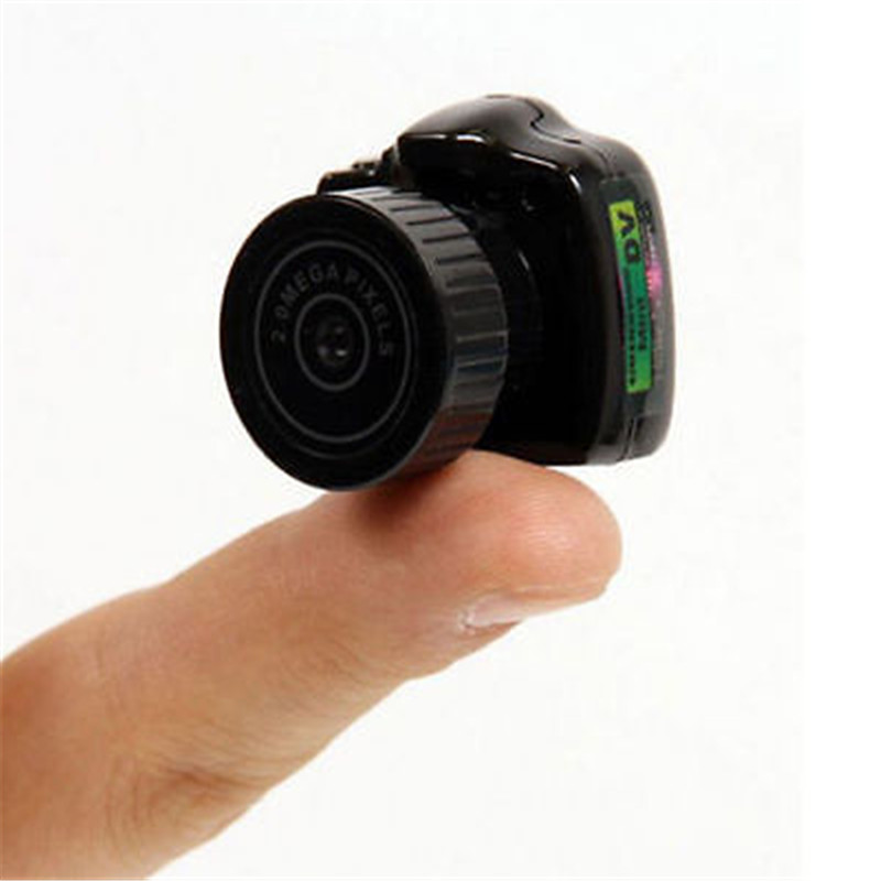 Apleok Y2000 HD más pequeño Mini cámara Digital fotografía Video Audio grabador DVR DV Videocámara portátil Web Kamera Micro Cámara