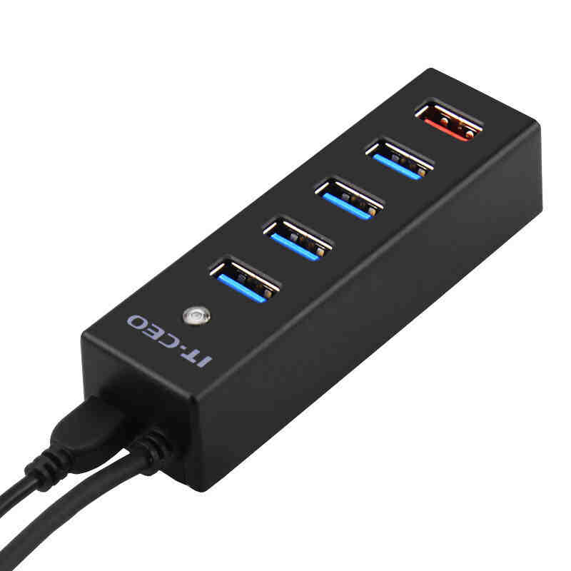 USB 3 HUB 3.0 4 Ports with Fast charge interface Multiple USB Splitter Porta Panel USB3.0 USB3 USB-HUB hub adapter 3 usb 2 0 ports