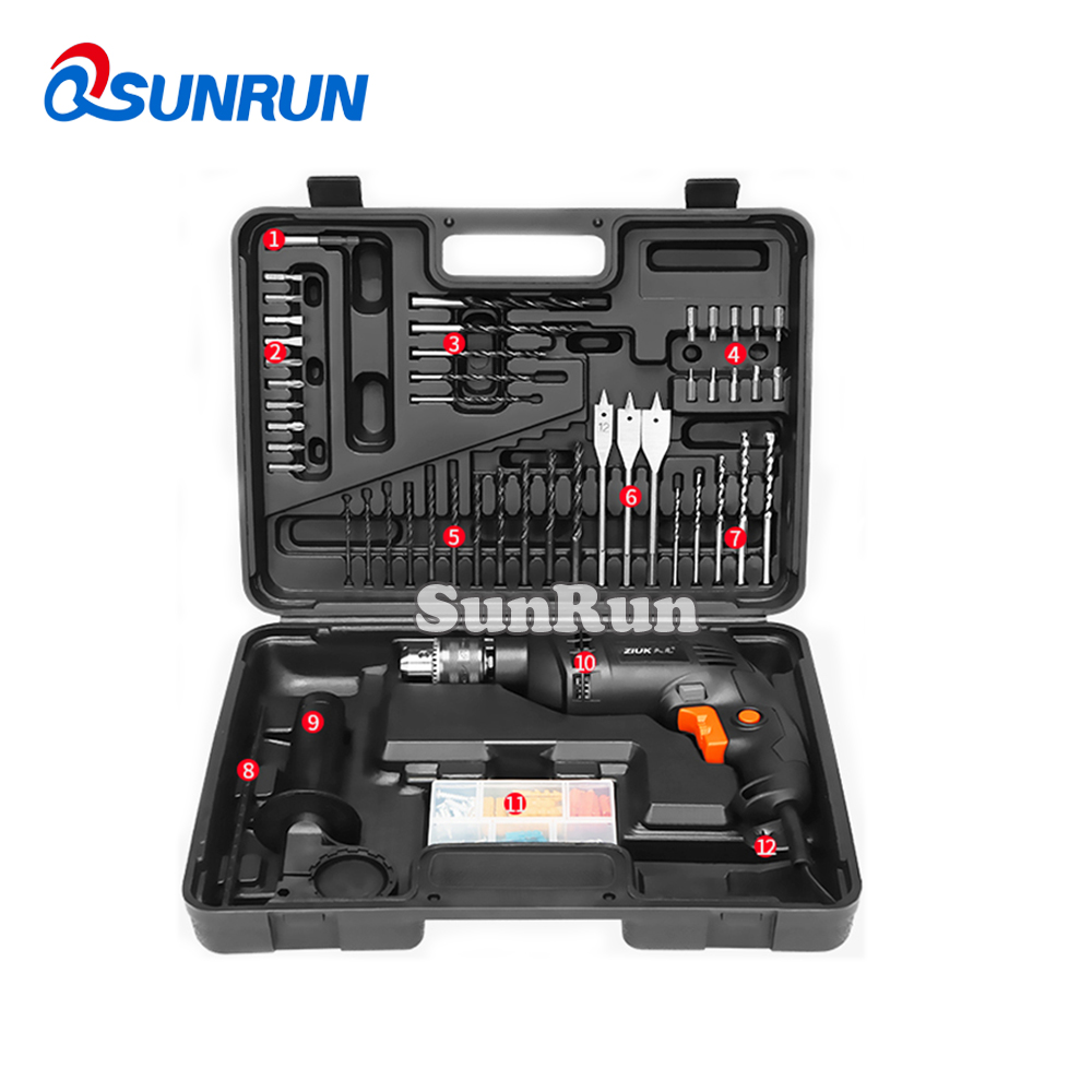 Household Toolbox Multi-function Hardware Tools Electrician Car Repair Screwdriver Wrench Impact Drill Claw Hammer Test Tool 88pcs 500w impact electric drill household utility tool set multi functional hardware maintenance toolbox repair tool