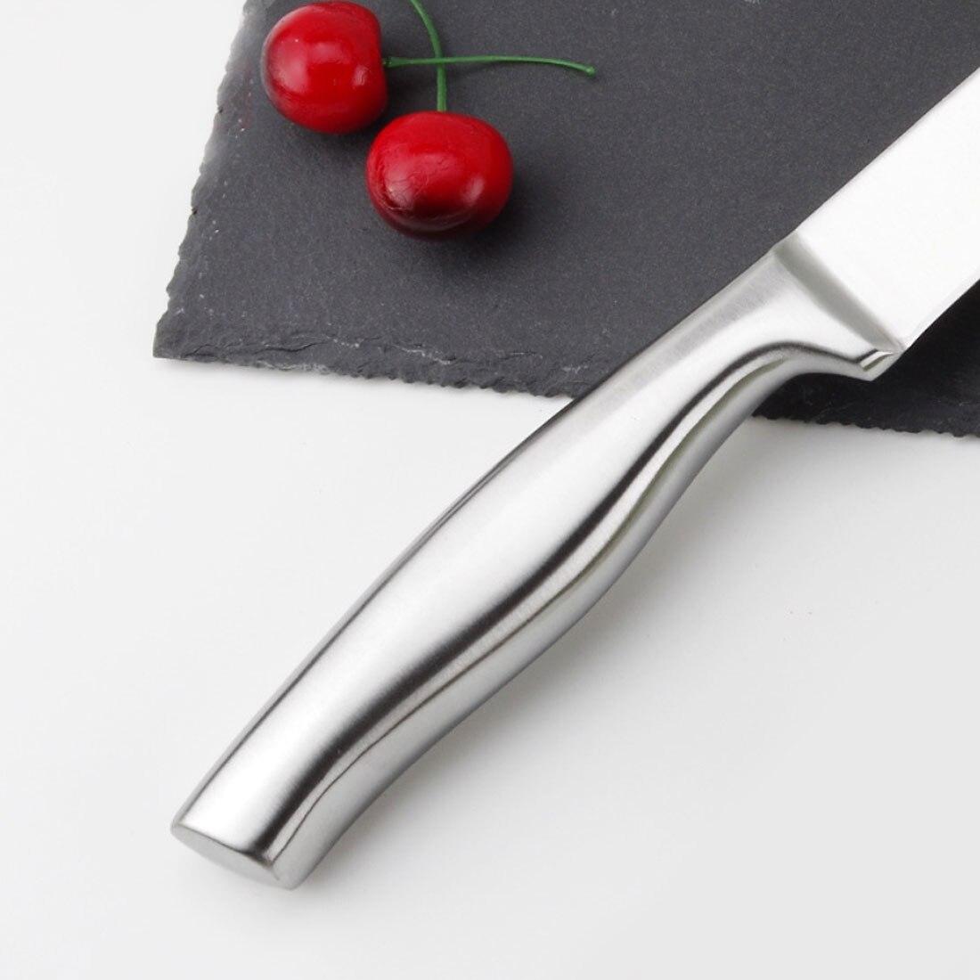Nice Top Grade Sharp Knife High Quality 34.5x3CM Frozen Meat Vegetable Fruit Cutter Chef kitchen Knife