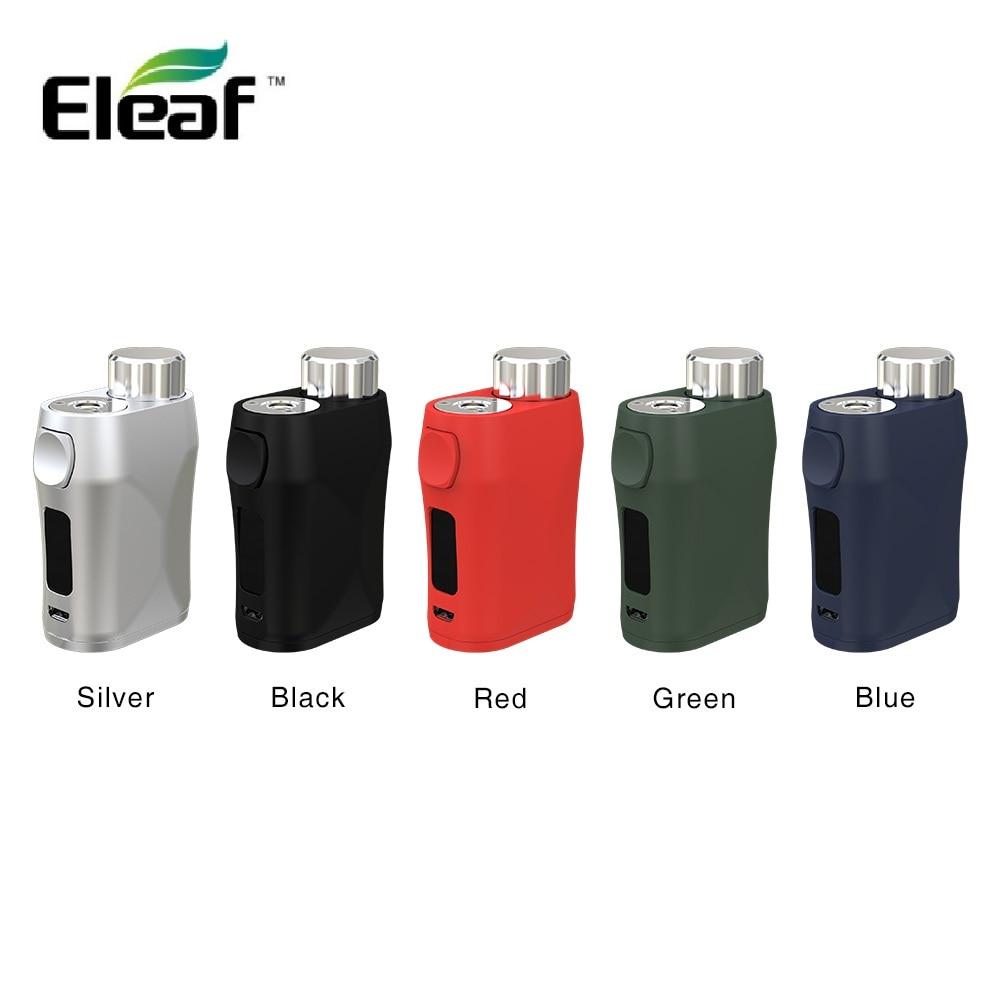 Original Eleaf iStick Pico X 75 W Max sortie TC Box MOD avec écran de 0.69 pouces et puissance recommandant le système sans batterie Vape e-cig
