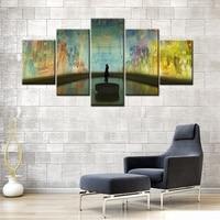 博物館アート壁画展5ピースポスタープリントキャンバス絵画用オフィス装飾壁アートファッションギフト卸売&カスタマイズされ