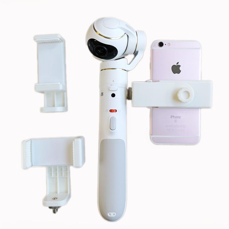 Para xiaomi accesorios de la Cámara Anti-vibración soporte de teléfono diadema Clip soporte para xiaomi mi Drone 4K cardán de mano cámara del deporte Cámara de