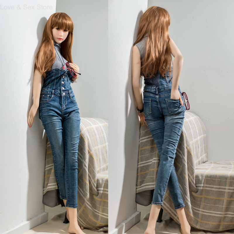 165cm Top quality TPE Sex Doll Full Silicone Love Doll Japanese Adult Doll With Vagina Real Pussy Masturbator