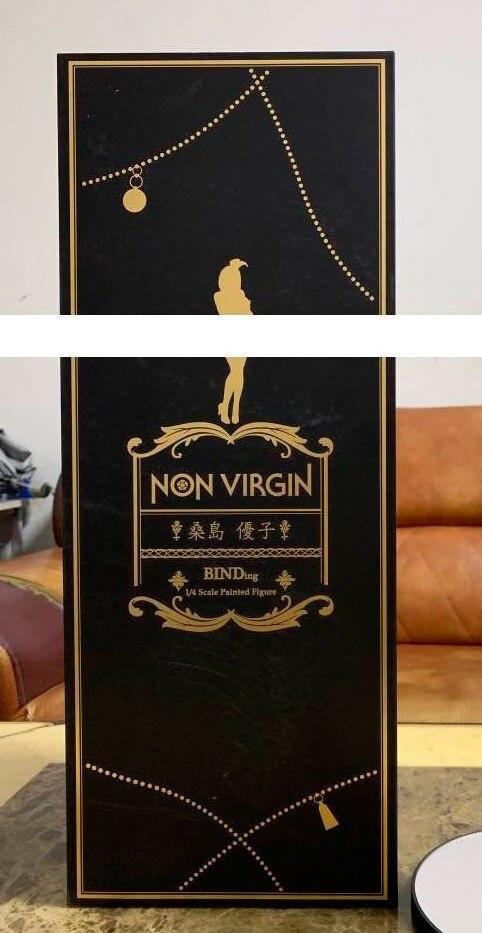 41cm Japanese sexy anime figure Native Non Virgin bunny ver action figure collectible model toys for boys (5)