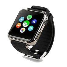 Bluetooth Smart Watch Smartwatch Schlaf Monitor mit Sim Einbauschlitz Push-nachricht Bluetooth Kamera 2,0 für IOS & Android ZY6