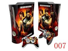 OSTSTICKER Vinyl Skin Sticker For Xbox 360 Fat Decal For Microsoft Xbox 360 Fat Sticker free shipping(China)