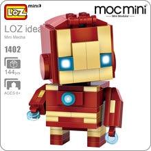 LOZ Super Heroes Blocks Action Figure Figurines Figure font b Toys b font Mini Super Heroes