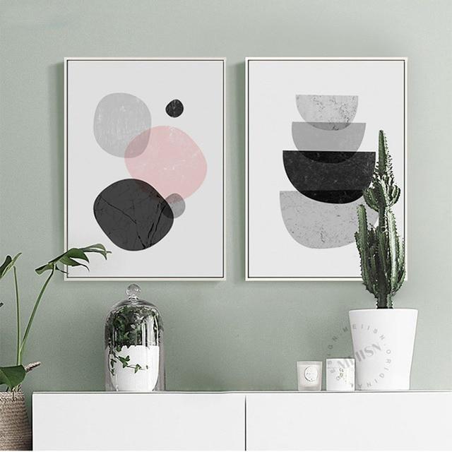 haochu nordic dekorative malerei wohnzimmer moderne. Black Bedroom Furniture Sets. Home Design Ideas