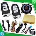 Cardot novo inteligente alarme de carro passiva keyless entry bloqueio automático ou desbloquear porta do carro botão start stop chave inteligente interruptor