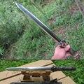 WUSHU Han Sword Chinese KungFu Damascus Steel Blade Sword Knives drilling Sword