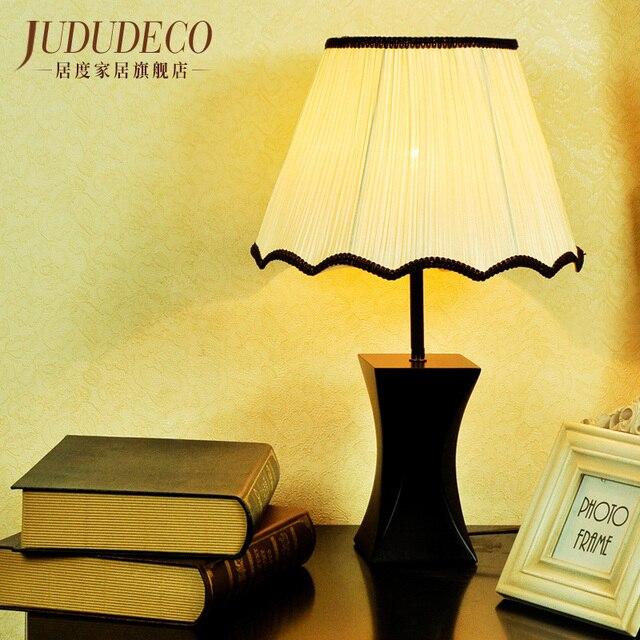 Nacht Leuchter Stoff Schreibtischlampe Tischleuchte Kunst Massivholz Lampe Fur Wohnzimmer Schlafzimmer Warmes Licht Ehe Chinesischen Stil