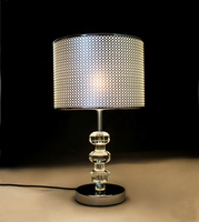 Modern Bedroom Bedside Lamp E27 Led Bulb Special k9 Crystal Table Lamps Gift Fashion simple personality shiny Table lights