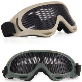 NEW Anti Fog Safety Glasses With Metal Mesh And Adjustable Nylon Strap For Outdoor Activity
