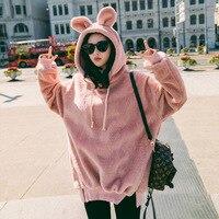 South Korea Meng Mei Young Plush Plush Padded Warm Winter Plus Size Women
