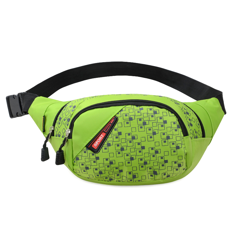 Waist Pack For Men Women Fanny Pack Bum Chest Bag Hip Money Handbag Belt Travelling Mountaineering Shoulder Mobile Phone Bag