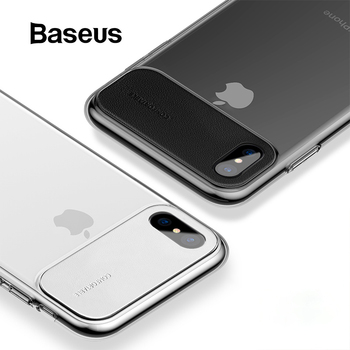 Baseus PU Leather + Plastic Case For iPhone Xs Max Ultra Thin PC Back Phone Cover For iPhone Xs Xs Max XR Case iPhone XR