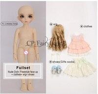 BJD Dolls Littlefee Ante 1/6 Yosd Pink Girl Toys For Girls Best Gift FL