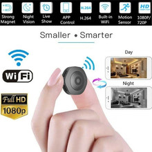 2019 Mini Wireless WiFi 1080P HD IP Camera Remote Monitor Motion Detection Night Vision Home Camcorder Cam(China)