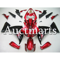 Injection ABS Plastic Fairing For Yamaha R1 2012 2013 2014 Year YZF1000 12 13 14 Motorcycle Glossy Red Black Full Bodywork