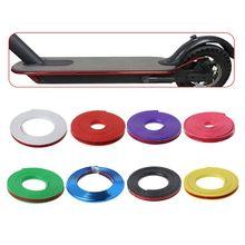 Электрический скутер анти-защита от столкновения полосы для Xiaomi Mijia M365 скейтборд бампер кузова царапинам Dec
