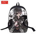 2015wholesale Cartoon Black Butler student Backpack teenager Rucksack Japanese Anime School Bag Kids Bookbags with double zipper