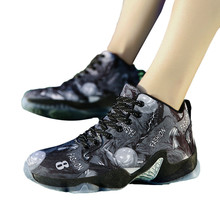 CHAMSGEND Trend Men #8217 s Non-slip Basketball shoes outdoor running shoes comfortable wild non-slip wear-resistant sneakers cheap LIFESTYLE Stability Hard Court Beginner Adult Breathable Waterproof Height Increasing Medium(B M) Rubber Lace-Up Half Marathon( 20km)