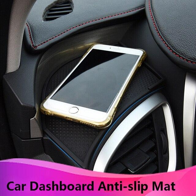 Kust автомобиль левая сторона приборная панель анти-антискользящий коврик для Nissan для Murano 2015 мобильный телефон Нескользящая Накладка для Murano 2017 автомобильные аксессуары