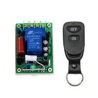220V AC 1CH 30A Relay Remote Control Switch RF Wireless Remote Controller LED Lamp Motor Waterpump