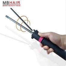 Profesyonel Saç Salon Seramik bukle makinesi sıcaklık ayarı saç kıvırma çubuğu saç bigudi Dönen bukle makinesi s saç bigudi şekillendirici araçları