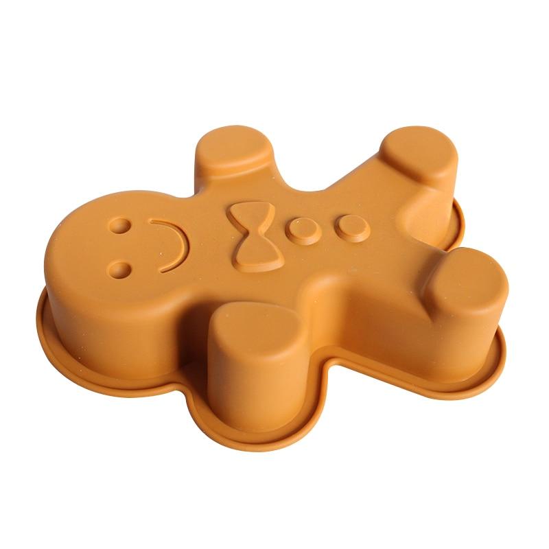 Kleine Grosse Ingwer Mann Silikon Muffin Pan Jell Formen Kuchenform