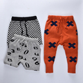 Boys Winter pants 2016 kids pants Bobo choses winter Toddler Baby Girls knitted trousers warm sweater Boys harems pants