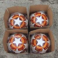 Red Madrid 19 Final Balls 2018 2019 League Soccer Ball PU high grade seamless paste skin Blue Match football ball Size