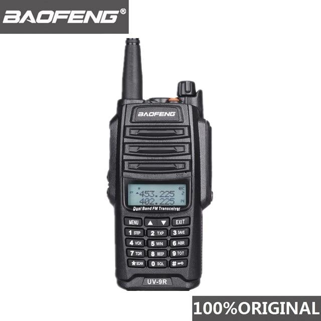 Originele Baofeng UV 9R IP67 Waterdichte Dual Band Uhf Vhf Walkie Talkie Ham Radio UV9R Walky Talky Cb Two Way Radio station Uv 9R