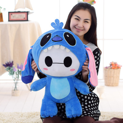 lovely cartoon doll large 60cm plush toy turn to classic figure ,soft throw pillow, Christmas gift x013 large 90cm cartoon pink prone pig plush toy very soft doll throw pillow birthday gift b2097